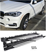For 14-up Bmw F15 X5 Oe Aluminum Side Step Assembly Nerf Bar Running Boards
