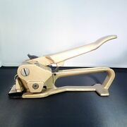 Signode Strapping Tool / Pf Tensioner For 3/8 - 3/4 Steel Strapping