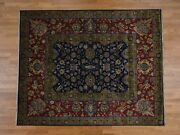 9and0391and039and039x12and0392and039and039 300kpsi New Zealand Wool Handknotted Oriental Rug G37204