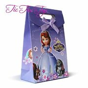 6 X Sofia The First Princess Paper Loot Lolly Gift Bags Party Supplies