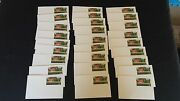Vintage Usa Post Postal Cards - 1995 20 Cent, Red Barn, Lot Of 27, Not Used