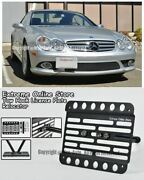 03-08 For Mb Sl-class No Pdc Front Tow Hook License Plate Bracket Relocator R230