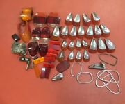 Vw Volkswagen Taillights And Trim Lot Of 40 +