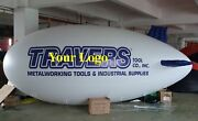 7m 22ft Inflatable Advertising Blimps /flying Giant Helium Airplane Balloon