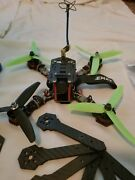 Emax Nighthawk-x5 Drone Built - 2+ Sets Of Spare Parts