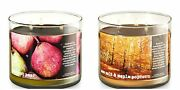 Buy 1 Get 1 25 Off Add 2 To Cart Fall 2017 Bath And Body Works 3 Wick Candle