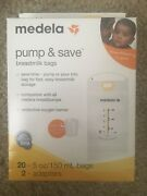 Medela Pump And Save Breastmilk Bags Lot 20 Count 12 Boxes
