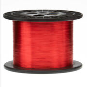 30 Awg Gauge Heavy Copper Magnet Wire 10 Lbs 31320and039 Length 0.0117 155c Red