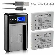 Nb-5l Battery And Lcd Usb Charger For Canon Powershot S100, S110,sd700 Is,sd790 Is