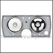 Dash Instrument Cluster Bezel For 1965 Plymouth Barracuda - Valiant