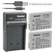 Nb-5l Battery And Slim Usb Charger For Canon Powershot S100, S110,sd700 Is,sd790is