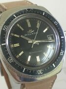 Movado Diver Watch Stardiver 200m Stainless Steel Auto Date Vintage Watch