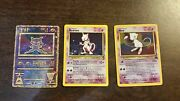 Pokemon Mew Cards Lots -mint Condition Holo