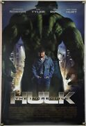 The Incredible Hulk Ds Rolled Orig 1sh Movie Poster Marvel Edward Norton 2008