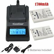 En-el5 Battery And Fast Charger For Nikon Coolpix 3700 4200 5200 5900 7900 S10 P3