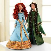 Disney Store Brave Merida And Queen Elinor Doll Set Limited Edition Doll