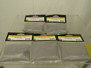 Lot Of 5 Jtt Scenery Products Ballast And Gravel, Gray, Coarse/200gm