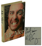 Me Alice Signed By Alice Cooper First Edition 1st Print 1976 Steven Gaines