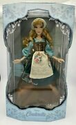 Disney Store Cinderella Rags Doll 70th Anniversary 17andrdquo Limited Edition