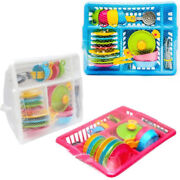Childrenand039s Kids Play Kitchen Cooking Plates Cutlery Toy Tea Set