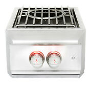 Blaze Grills Stainless Steel Pro Series Power Side Burner For A Bbq Island