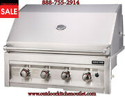 Sunstone 34 4 Burner Natural Gas Bbq Island Stainless Steel Grill Sun4b-ng