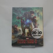 Iron Man 3 - Blu-ray 2d And 3d Combo Lenticular Slip Case Edition 2013