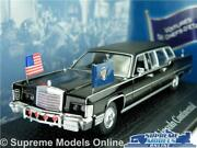 Ronald Reagan Lincoln Continental Car Model 143 Size Norev Presidential Cars T3