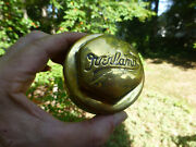 Overland Antique Brass Grease Cap Dust Cover Screw On Hub Cap