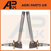 2x Front Axle Spindle Rh Lh For John Deere 2020 2030 2120 2130 3030 3130 Tractor