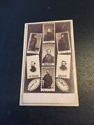 Collectible Army Of The West Original Civil War Cdv