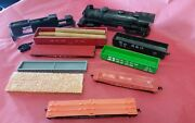 Lot Of 11 Miscellaneous Toy Train Cars For Parts