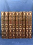 1816 Ben Jonson Complete Works Riviere Signed Bindings Leather Set Antique Books