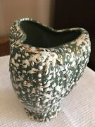 MID CENTURY MODERN VINTAGE TEXTURED VASE NO MARKINGS EXCELLENT