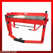 Wns Box And Pan Folder With Foot Operated Sheet Clamping 1270mm X 1.5mm Capacity