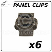 Panel Clips Cowling Vw Passat 2000/audi A4 Pack Of 6 Part Number 11073