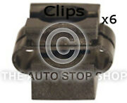 Panel Clips Cowling Audi A6/skoda Superb Pack Of 6 Part Number 11073mu
