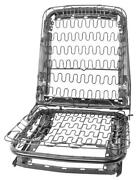 1965-67 Mustang Seat Back And Bottom Frame/ Spring - Rh New