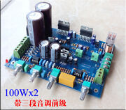 Ne5532 Tda7293 Amplifier Board 100w + 100w With Three Sections Of The Pre-tone