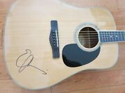 Emmylou Harris Signed Guitar Coa + Proof Country Music Autographed