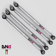 Dna Racing Rear Adjustable Camber And Toe Tie Rods Kit For Mini R56 - Pn Pc0206