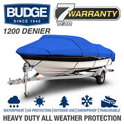 Boat Cover 1200d Waterproof V-hull Fishing Boat Beam 69-106 Wide 12and039 -26and039 Long