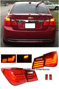 Bmw Style Rear Bumper Led Tail Light Signal Lamps For 11-15 Chevrolet Cruze 4dr