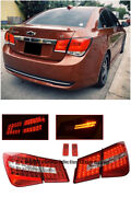 Mbz Style Rear Trunk Led Tail Light Signal Lamps For 11-15 Chevrolet Cruze 4dr