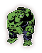 The Incredible Hulk Cartoon Removable Wall Sticker Decal 24