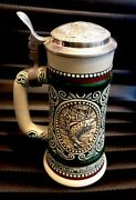 Sporting Stein Decanter Fishing And Hunting Beer Stein