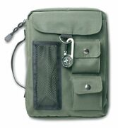 Compass Olive Green Extra Large Book And Bible Cover By Zondervan Brand New