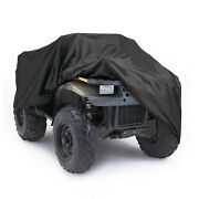 Full Atv Storage Cover Waterproof Heavy Duty Uv Protector Universal Fit To 87 L