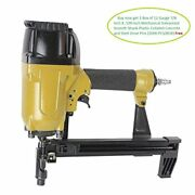 Meite Cs3025 Pneumatic Concrete And Steel Nailer In Wood To Concrete Application