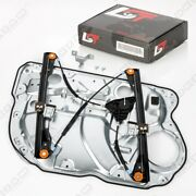 Complete Window Regulator With Panel For Vw Polo 9n 9a Front Right 4/5 Door